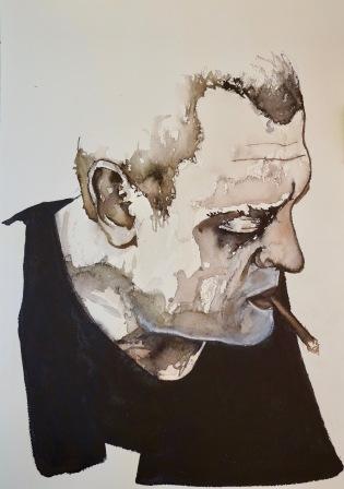 retrato víctor